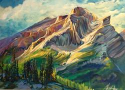 Enchanting Mt.Kidd 36 x 48 SOLD