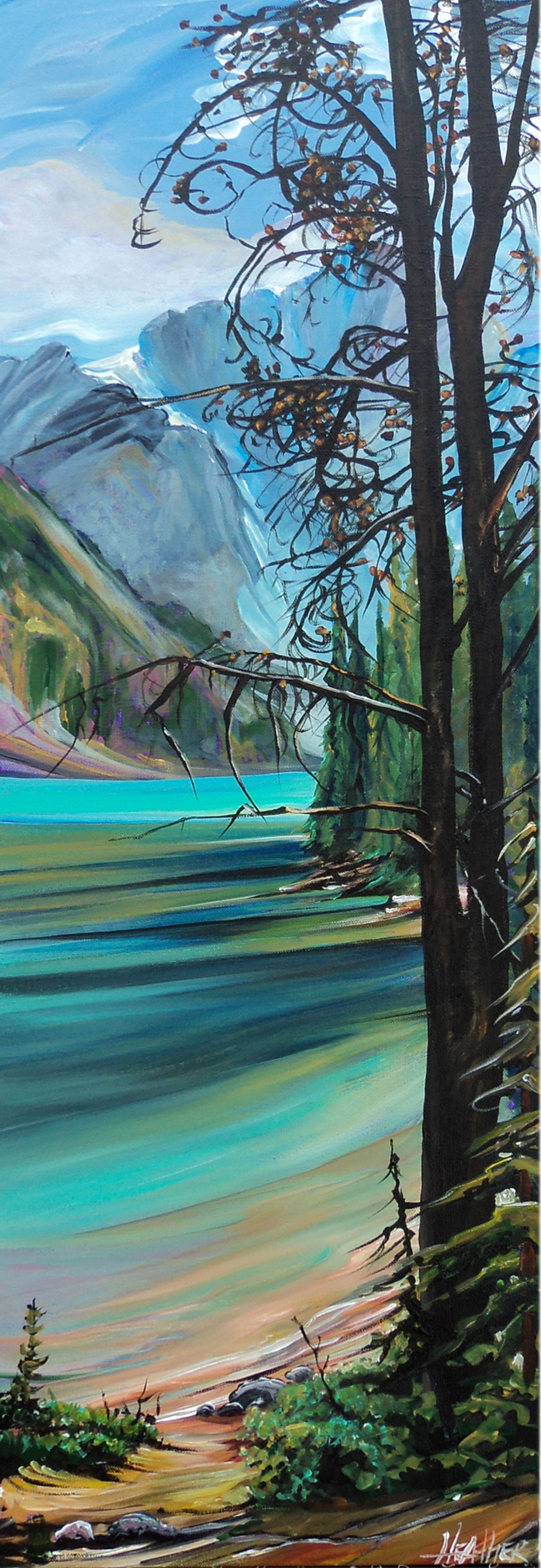 Among the Trees at Moraine..SOLD