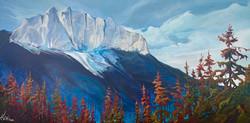 The Gift of Mt. Yumnuska 72 x 36 $6600