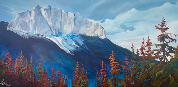 The Gift of Mt. Yumnuska 36 x 72 $6600