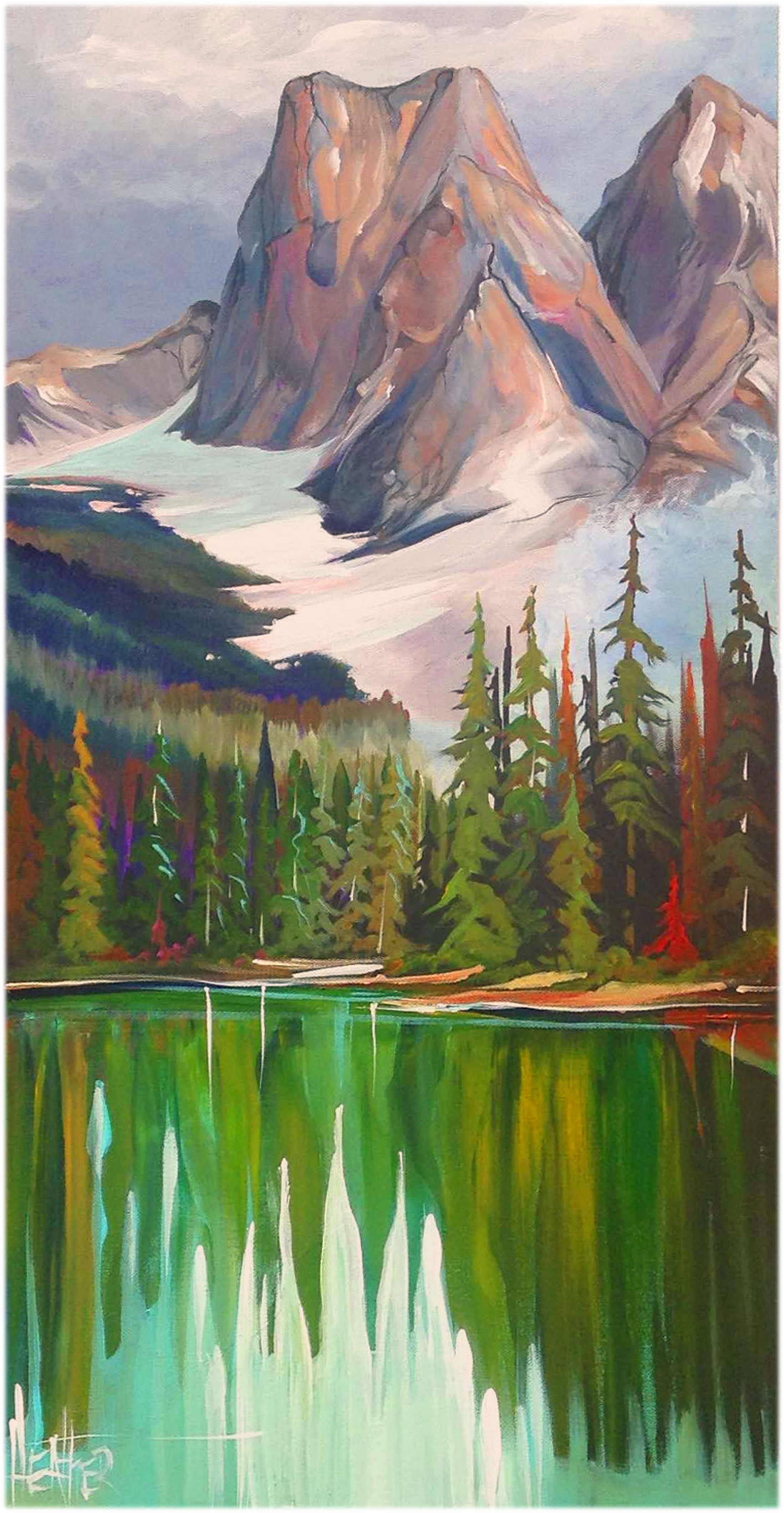 Reflecting on Emerald Lake...SOLD