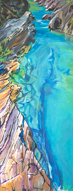 Heart of the Canyon 16 x 40  $2100