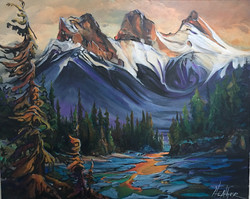 Mountain Muse 24 x 30 SOLD
