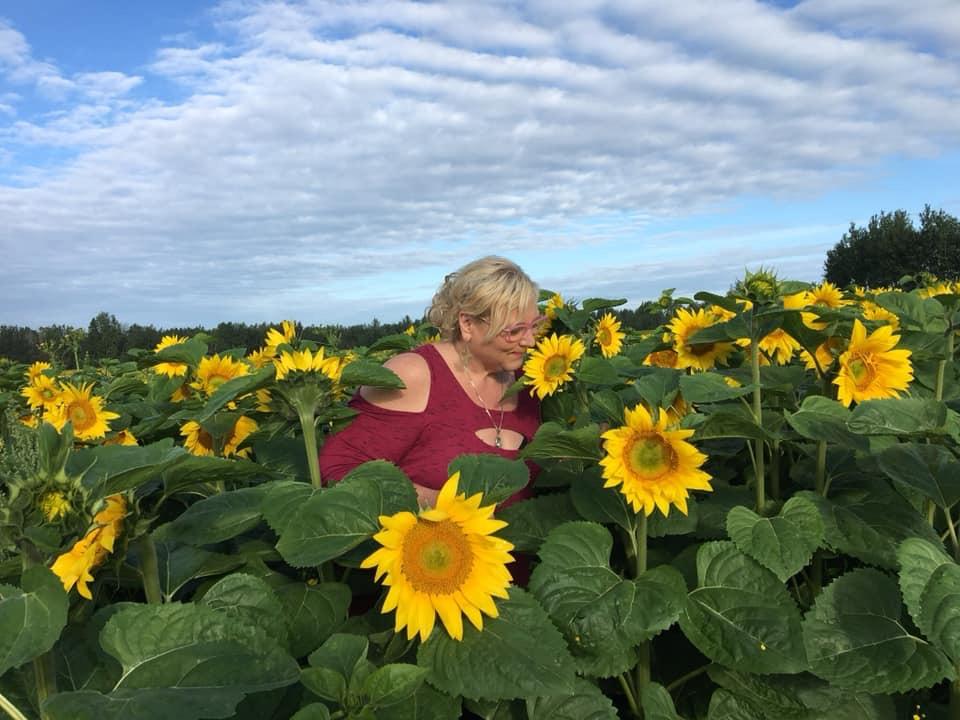 Heather Sunflower
