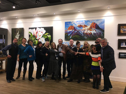 Avens Gallery Staff and Artists