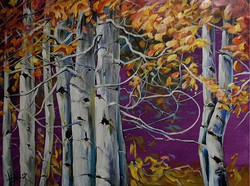 Song of the Mighty Birch 30x40 SOLD