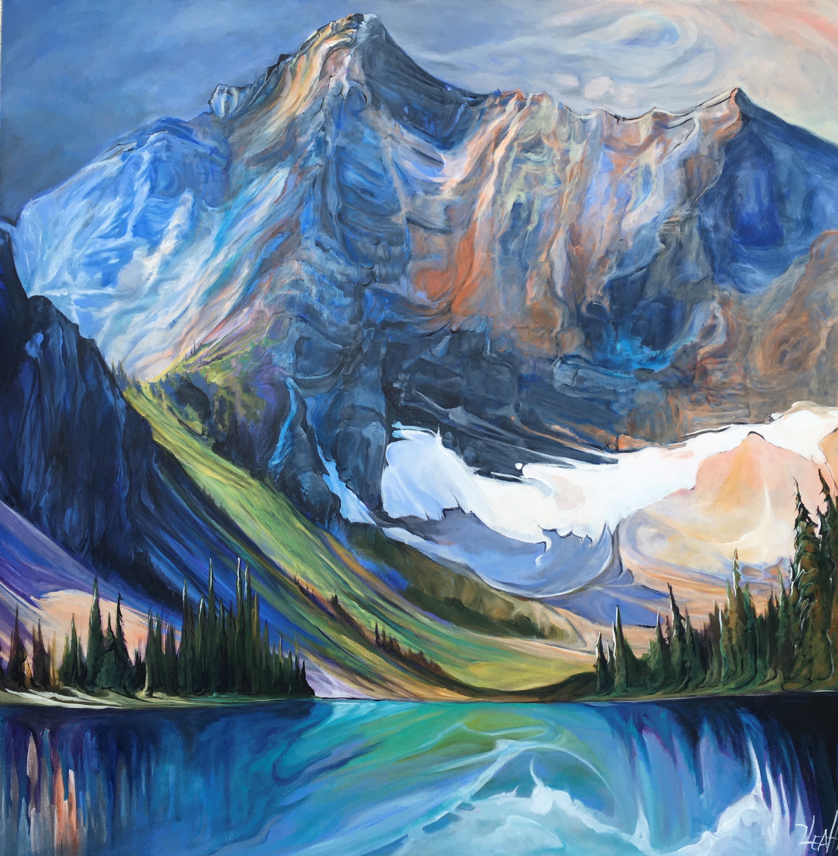 Serenity at Sarrail Ridge 48 x 48 SO:LD