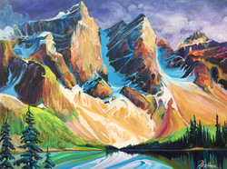 Melody of Moraine 36 x 48 SOLD
