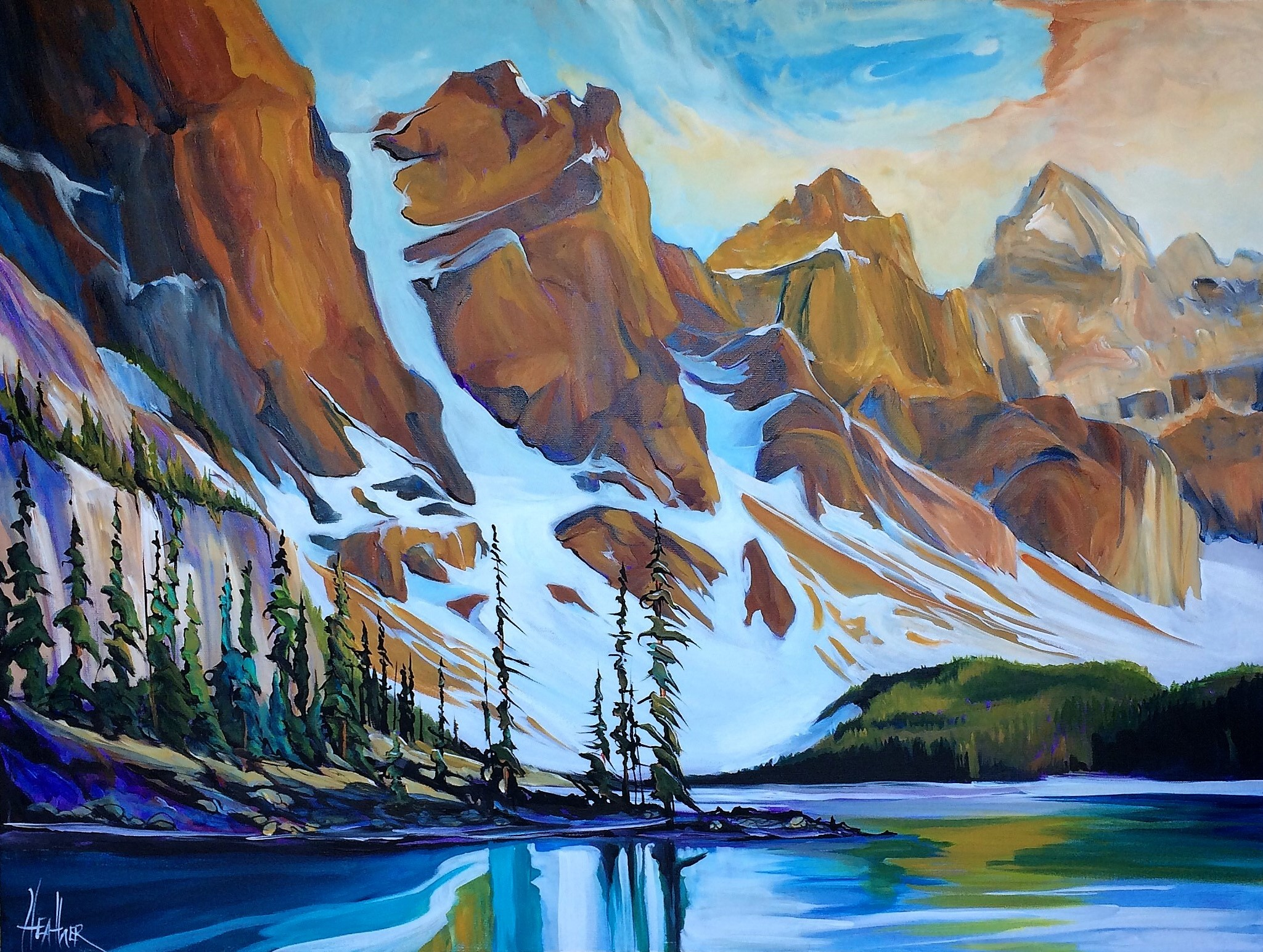 Majestic Journey 30 x 40 SOLD