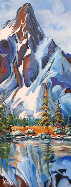 Back Country Bliss 16 X 40 SOLD
