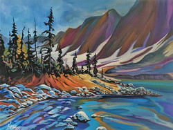 Going with Floe 18 x 24 SOLD