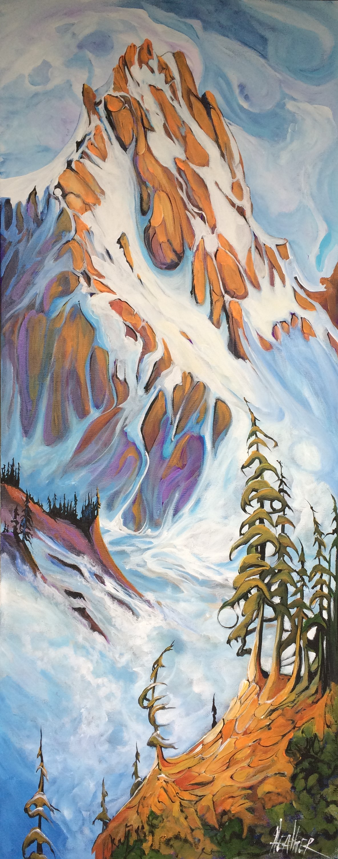 Cloud Dwellers 16 x 40