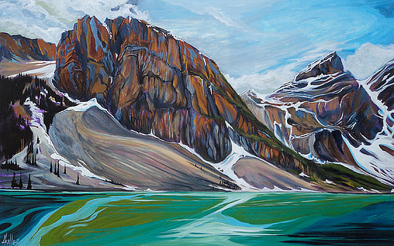 Magnificent Moraine 30 x 40 SOLD