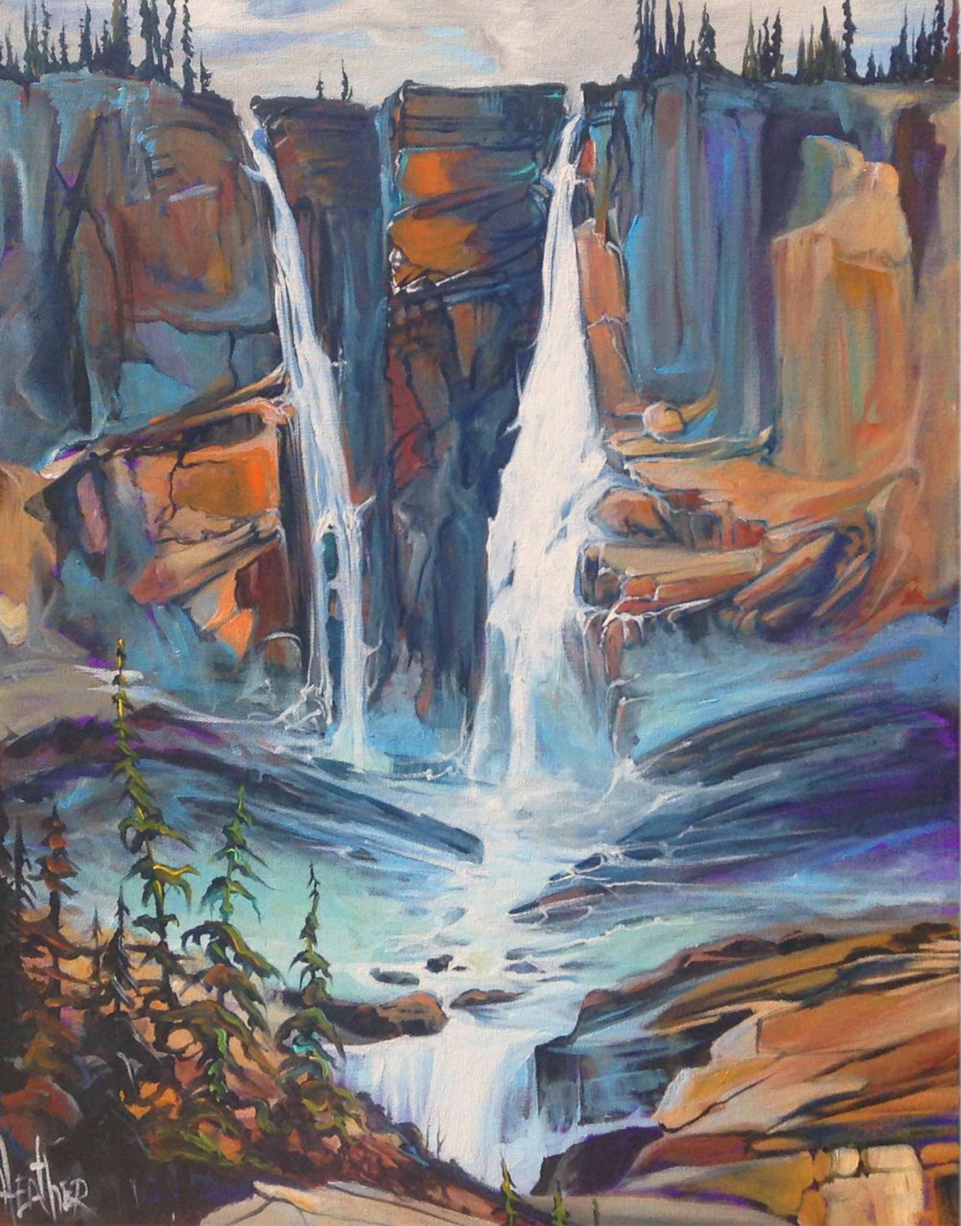 Twin Falls Surge 24 x 30...SOLD