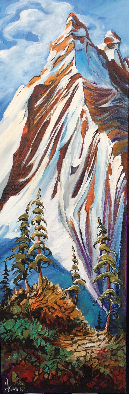 Kananaskis Climb 12 x 36