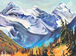 Kananaskis Mountain Melody 12 x 16