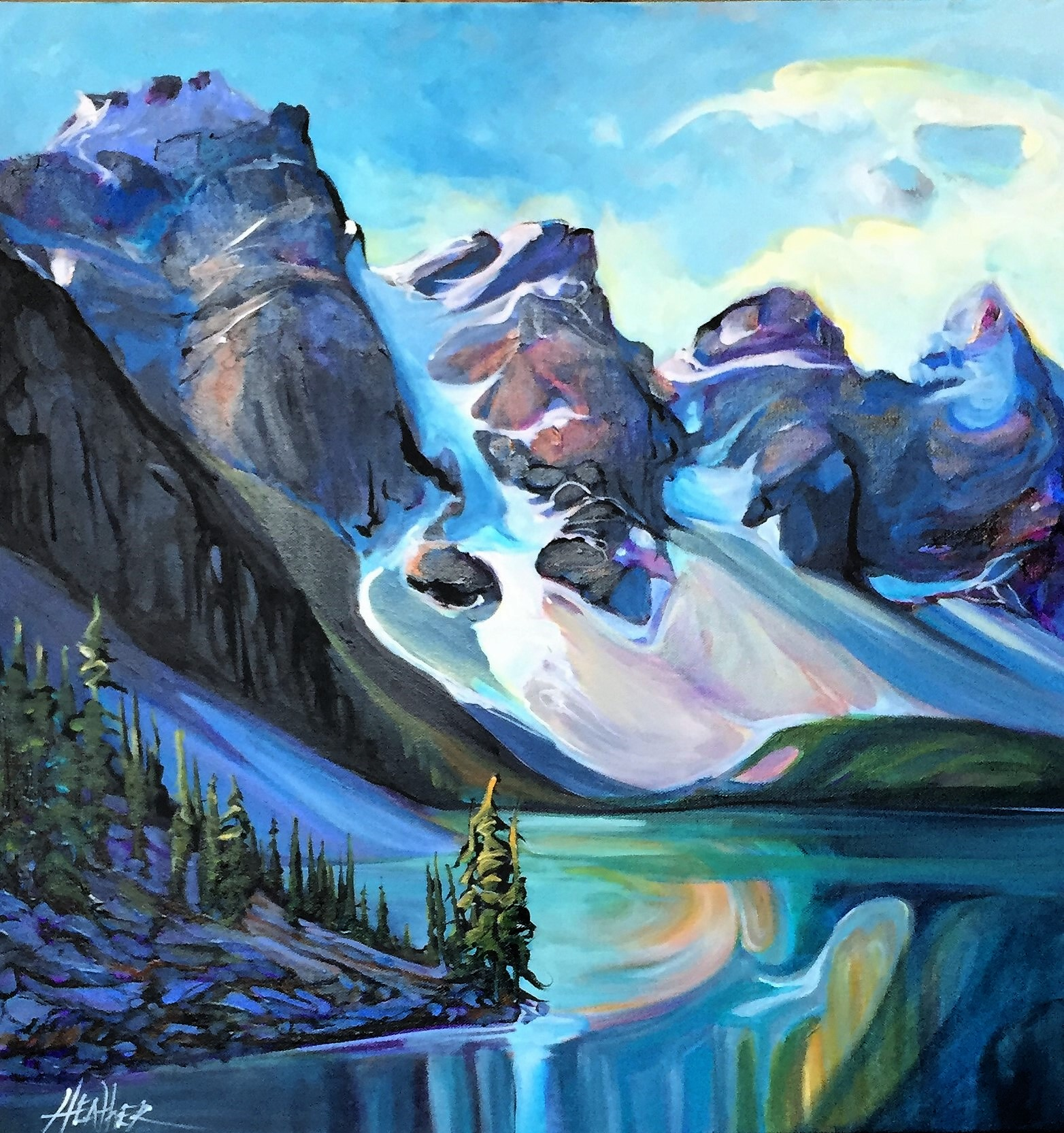 Serene Spirit Moraine Lake SOLD