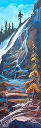 Above and Beyond 36 x 12 $1500