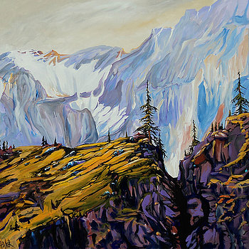 Rawson Lake Sarrail Ridge 36x36 SOLD