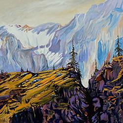 Rawson Lake Sarrail Ridge 36x36 SOLD