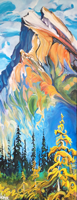 The Edge Mt. Rundle 16 x 40 SOLD