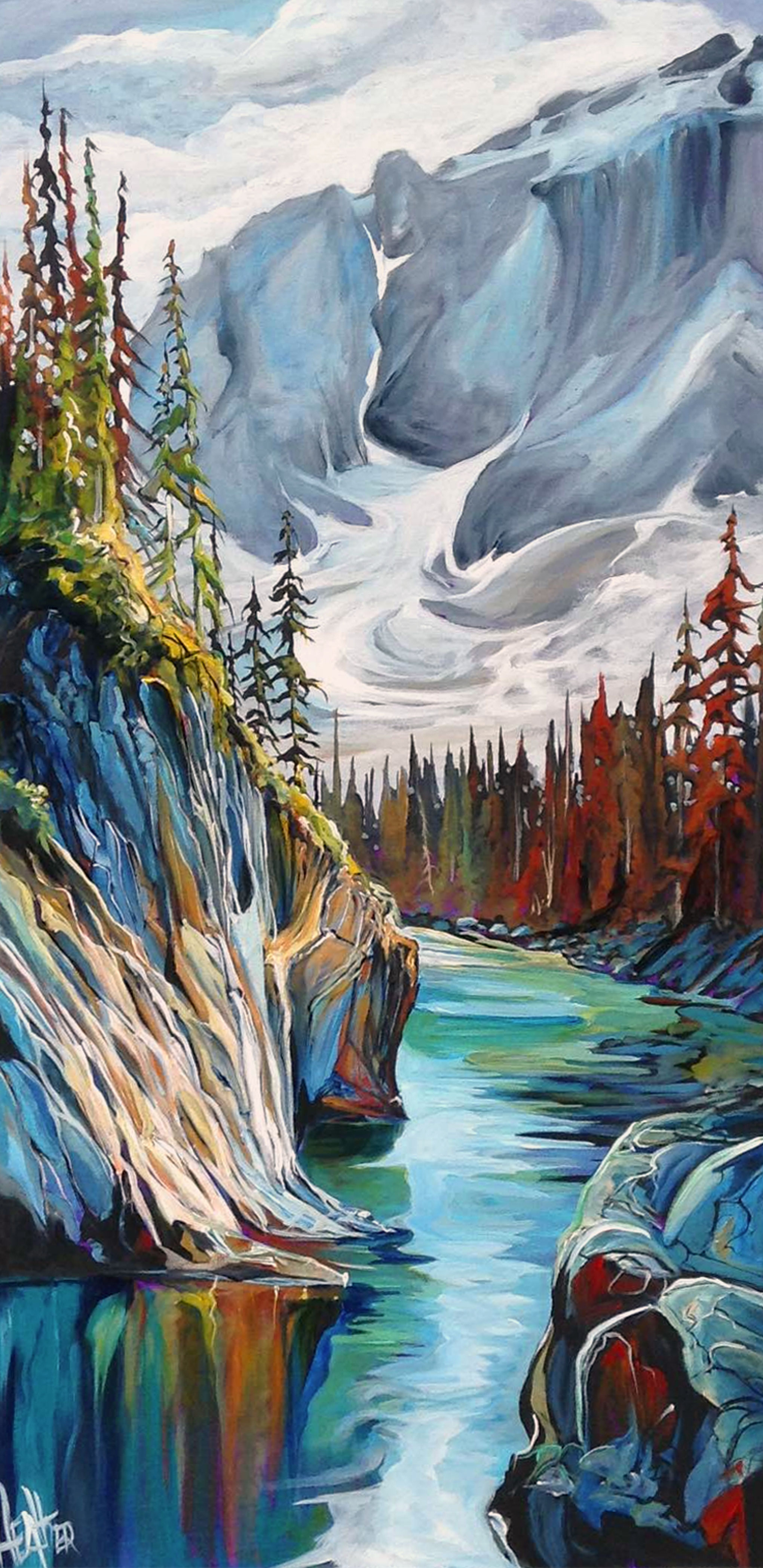 Rocky Mountain High 24x48 SOLD