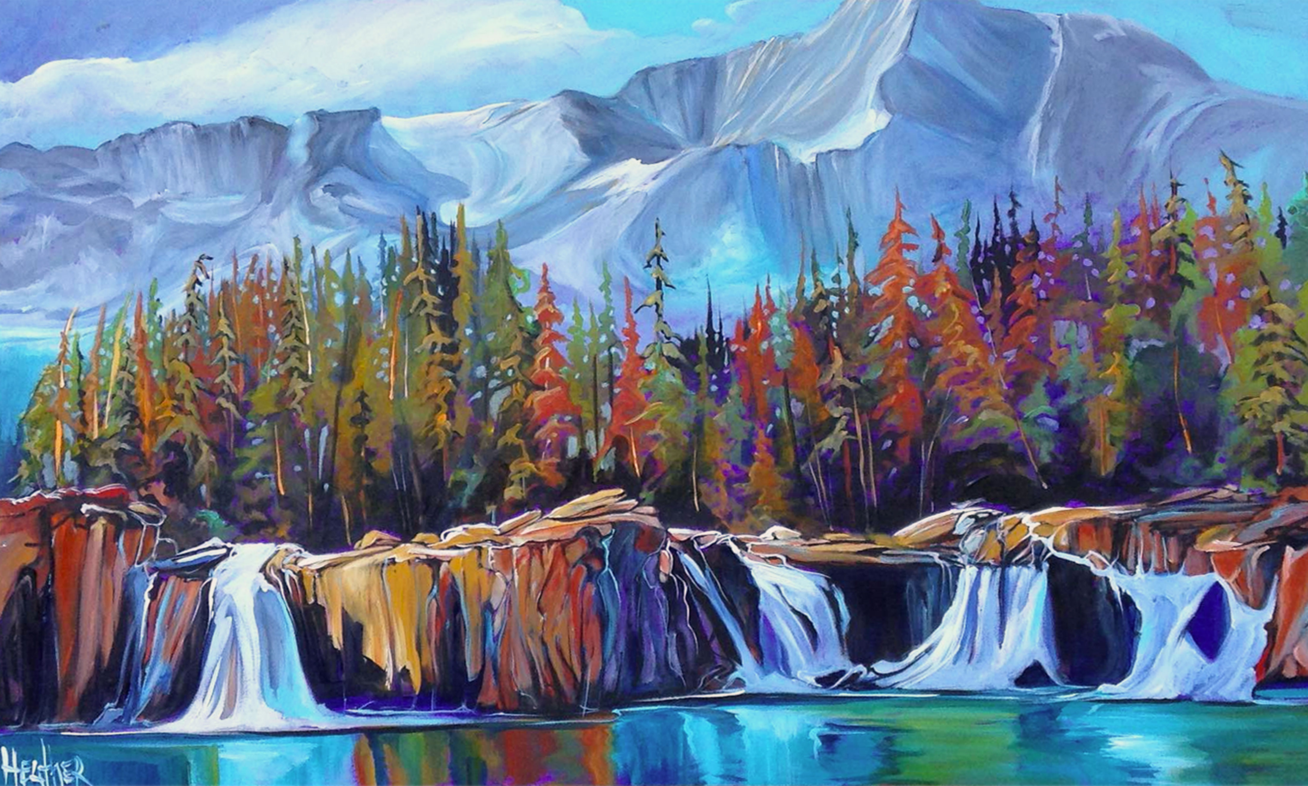 Rocky Mountain Wild  30x48 SOLD