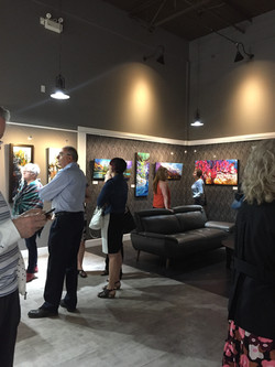 Gallery Exhibition Opening
