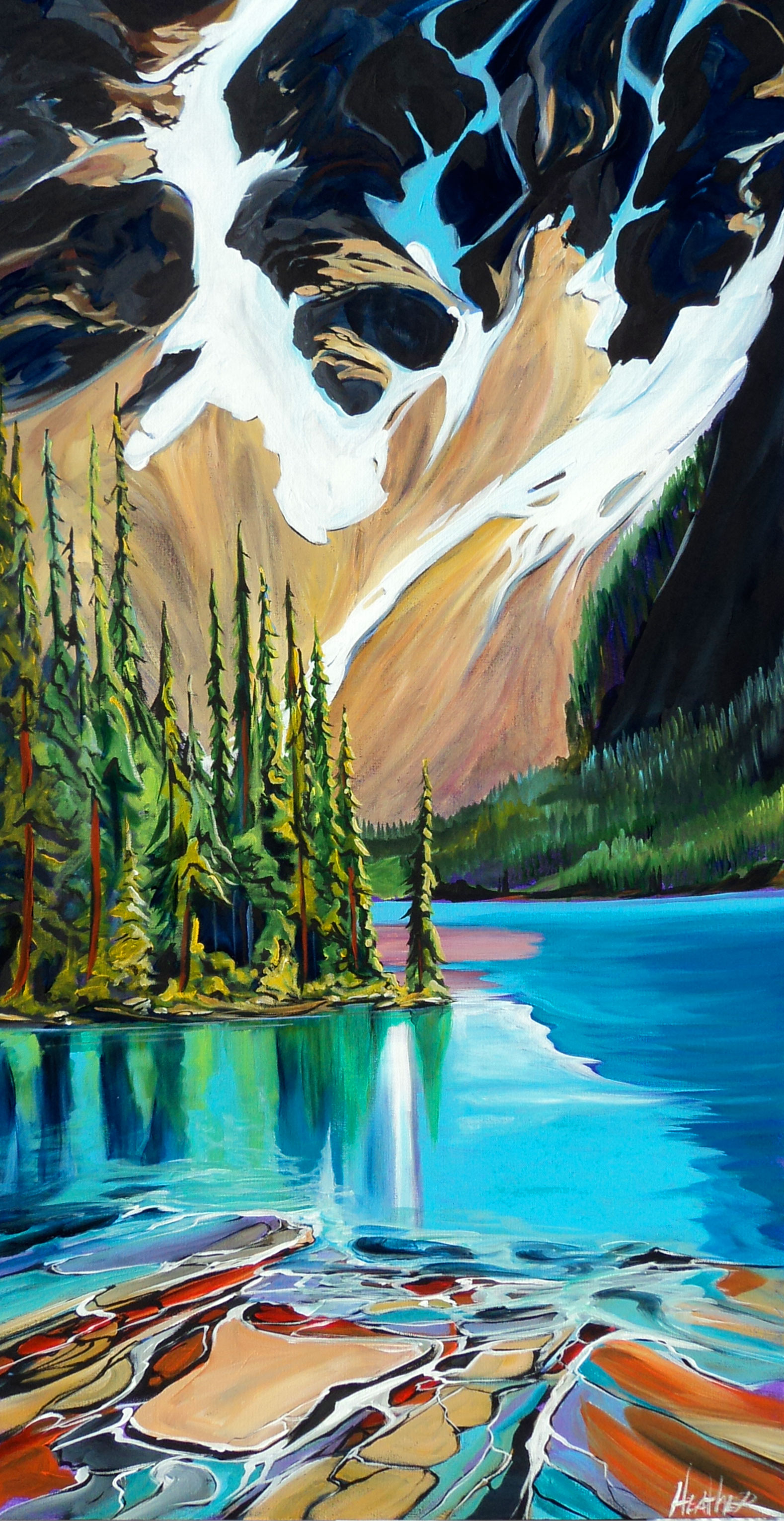 Moraine Lake From The North... SOLD