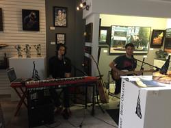 Band at Opening