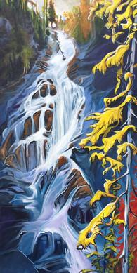 Falling for Squamish 24 x 48 $3100