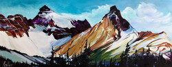 Athabasca Ice 16 x 40 SOLD