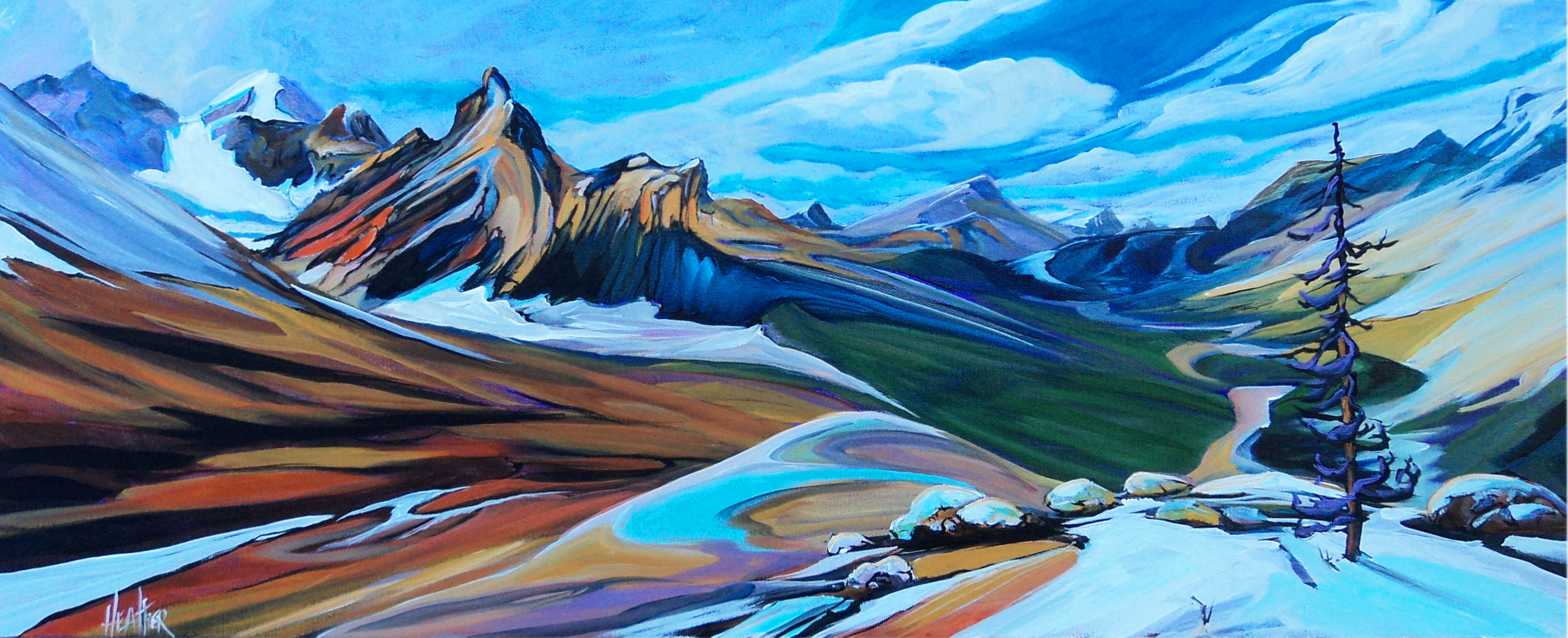 Cool Crisp Parker Ridge 16 x 40 SOLD