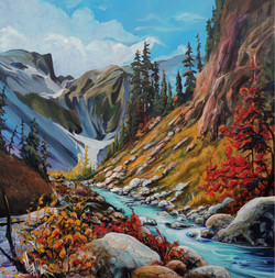 Solemnity of the Crowsnest Pass SOLD