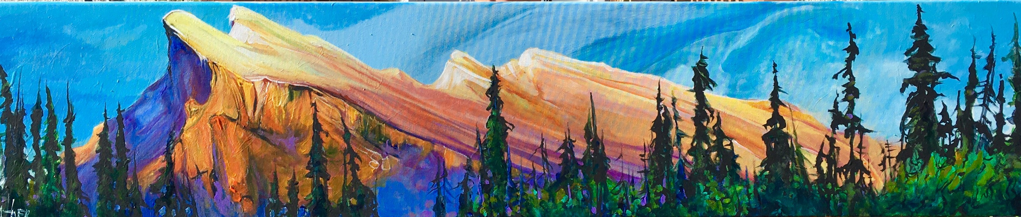Mount Rundle Living on the Edge