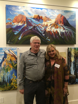Heather Pant and Dale Leckie