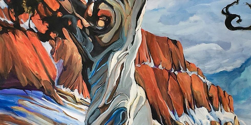 Heather Pant Twisted Tree Acrylics Workshop Edmonton