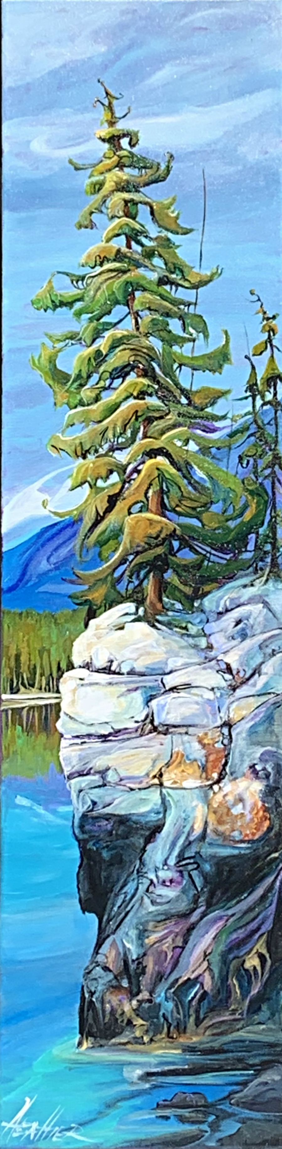 On the Edge 40 x 10 SOLD