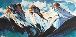 Ice Castles in the Sky 15 x 30 SOLD