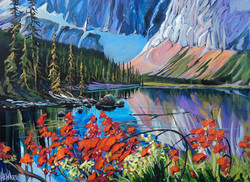 Mt. Edith Cavell 30 x 40 SOLD