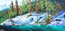 Symphony on the Lake Jasper 24 x 48 SOLD