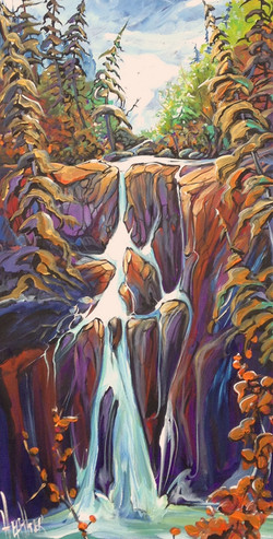 Foot of the Falls 15 X 30 SOLD