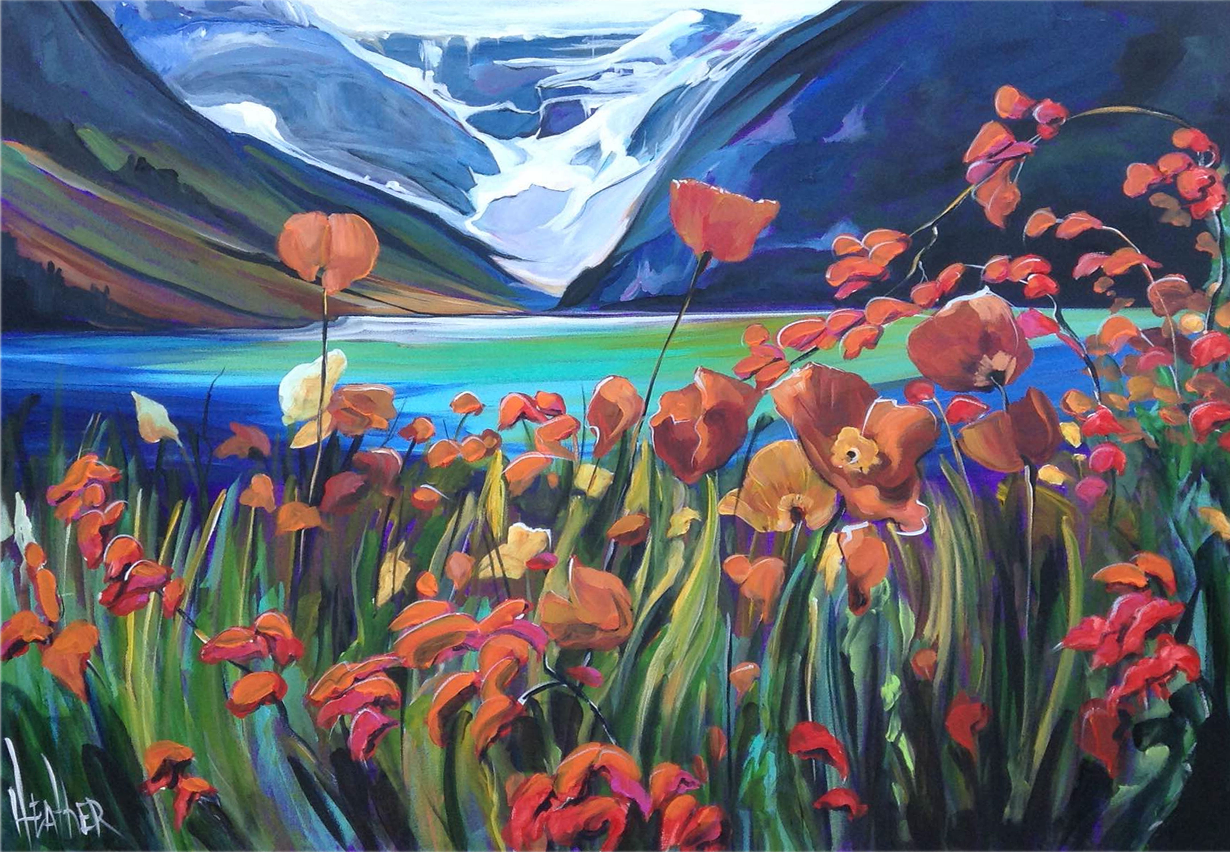 Song of Lake Louise 30x40...SOLD