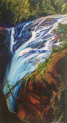 Twist Englishman Falls 20 x 36 $2100