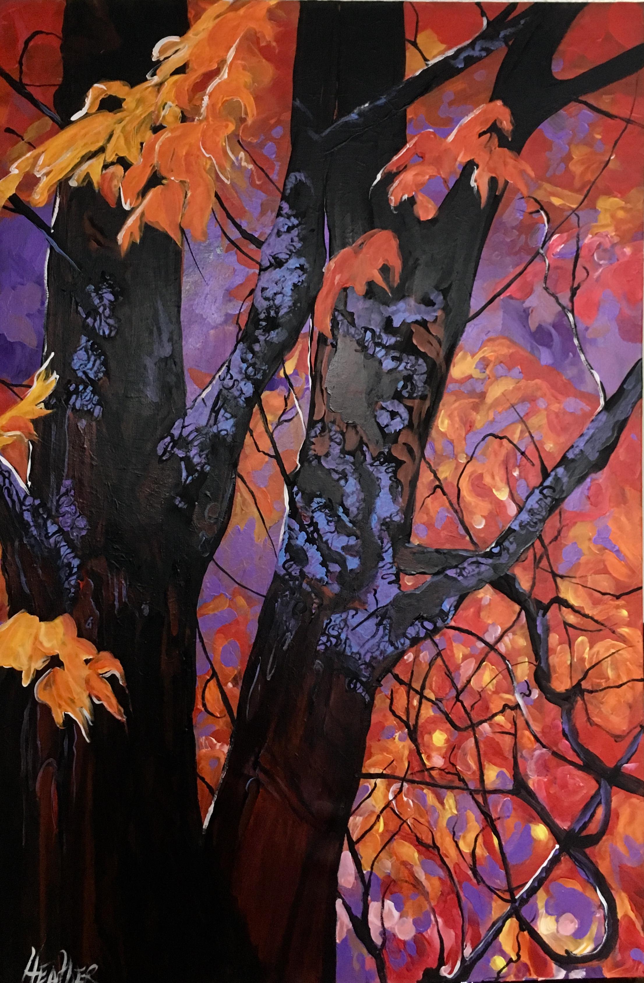 Lavender Sky 24 x 36 $2500
