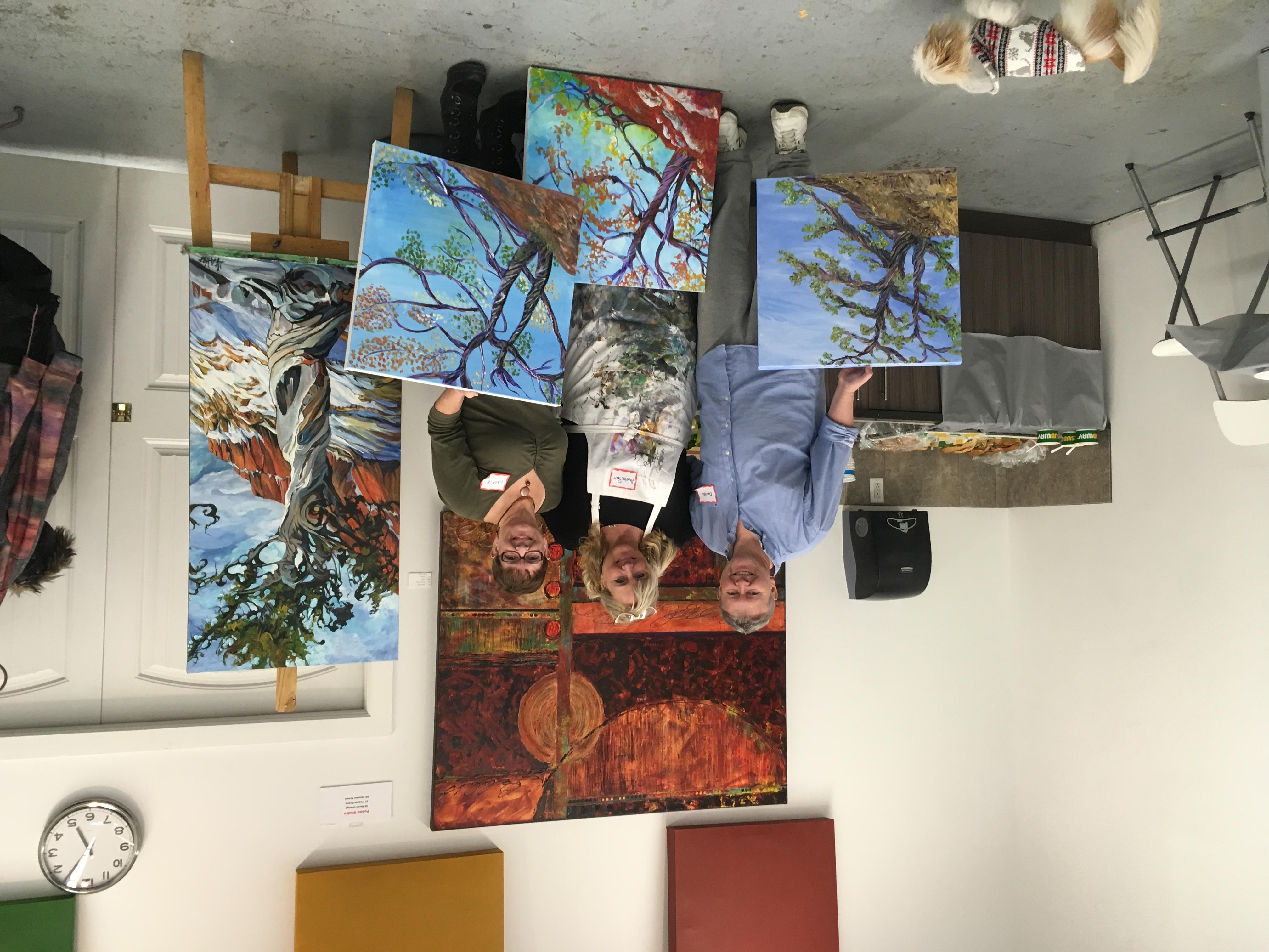 Heather Pant Art Class