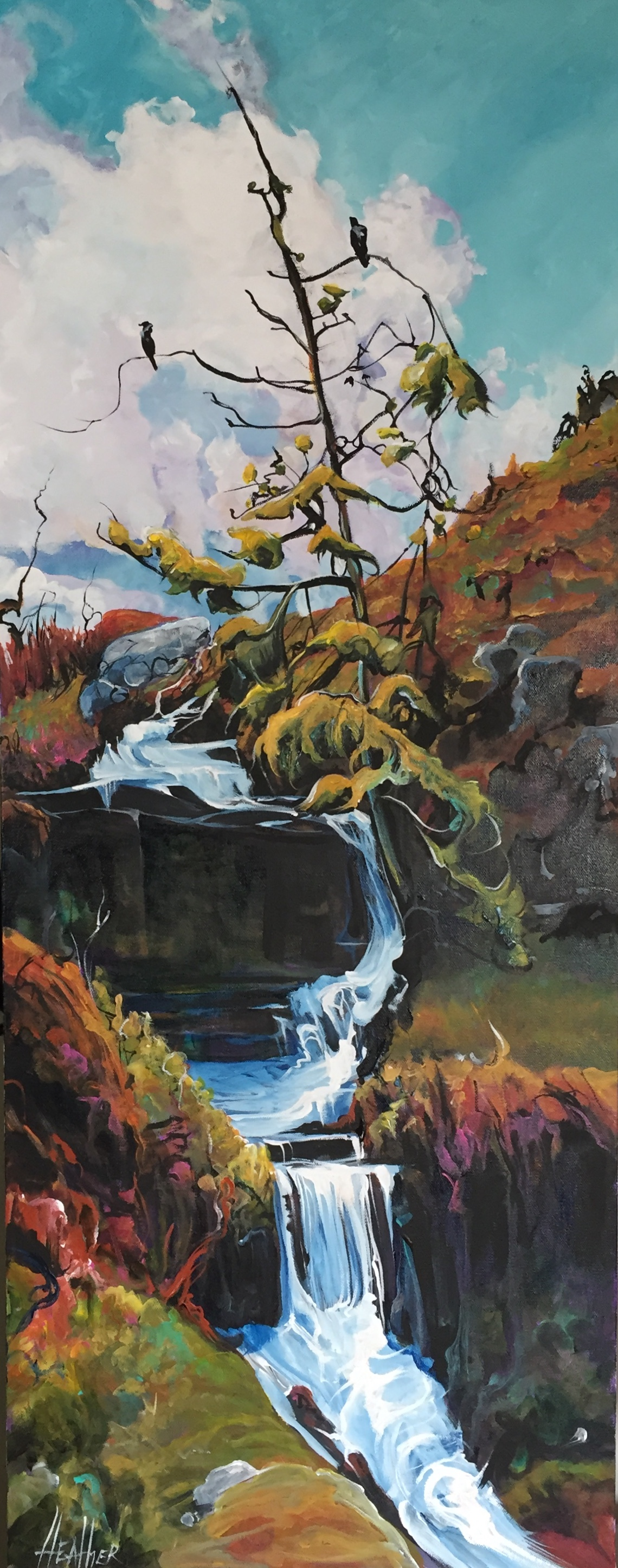 Wild is Free 16 x 40 SOLD