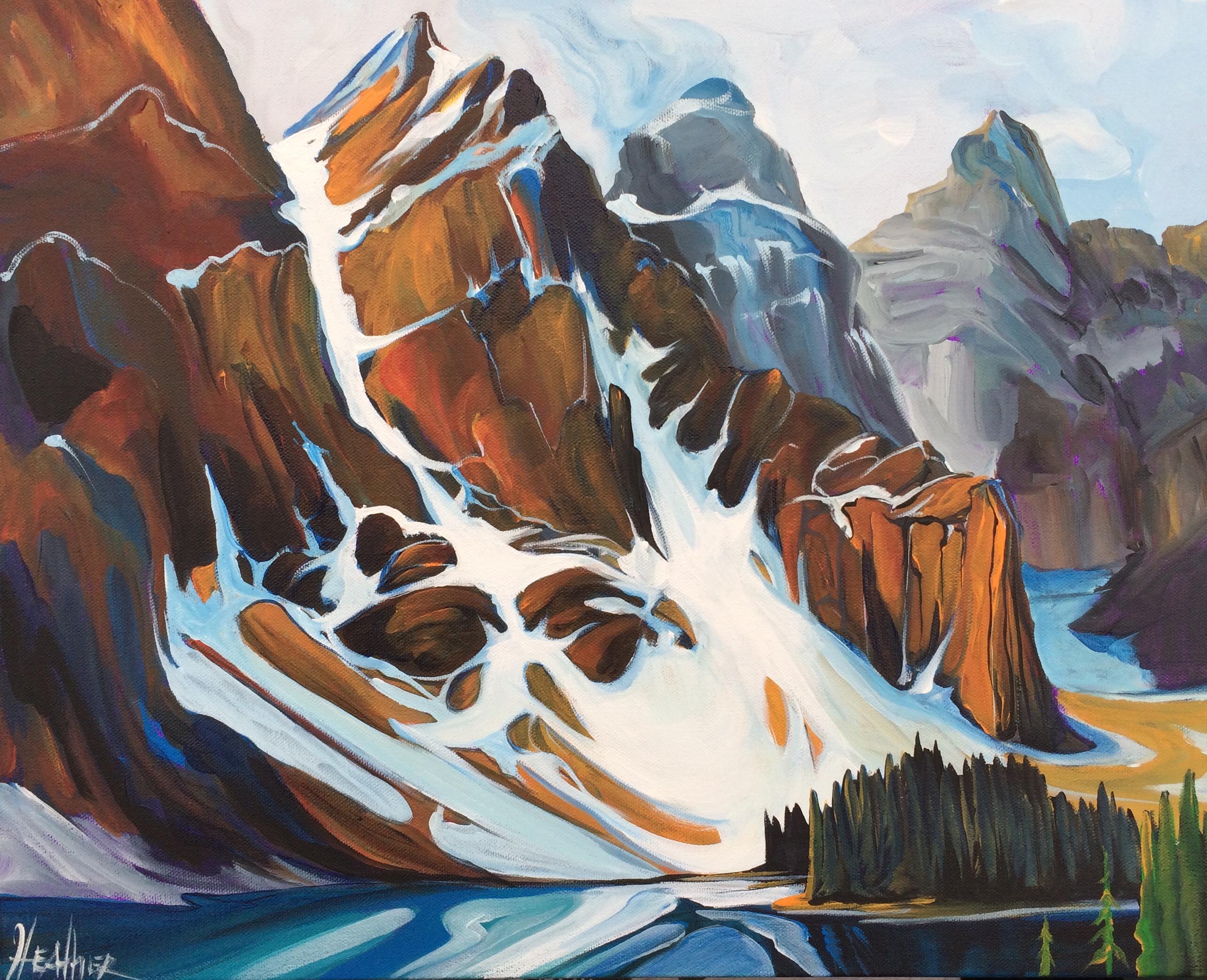 Morine Lake Tranquility 16 x 20