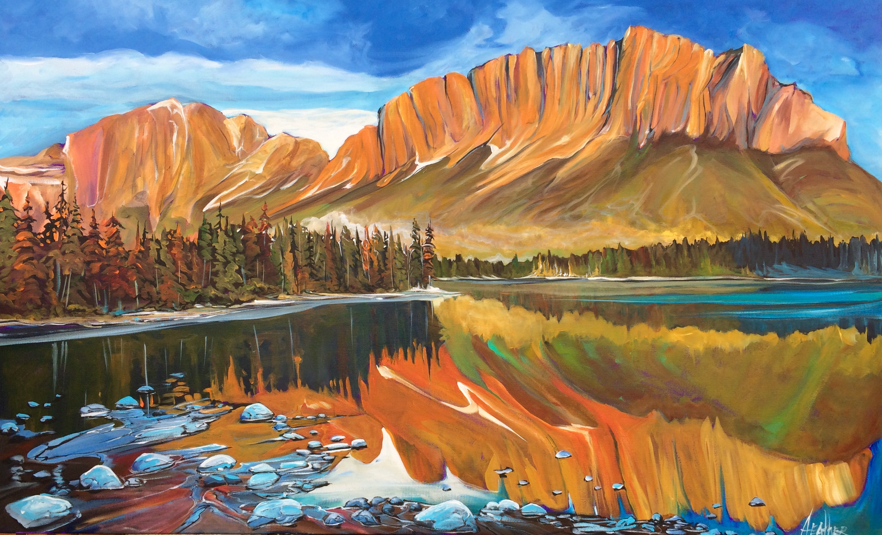 Nakoda Spirit 30 x 48 SOLD