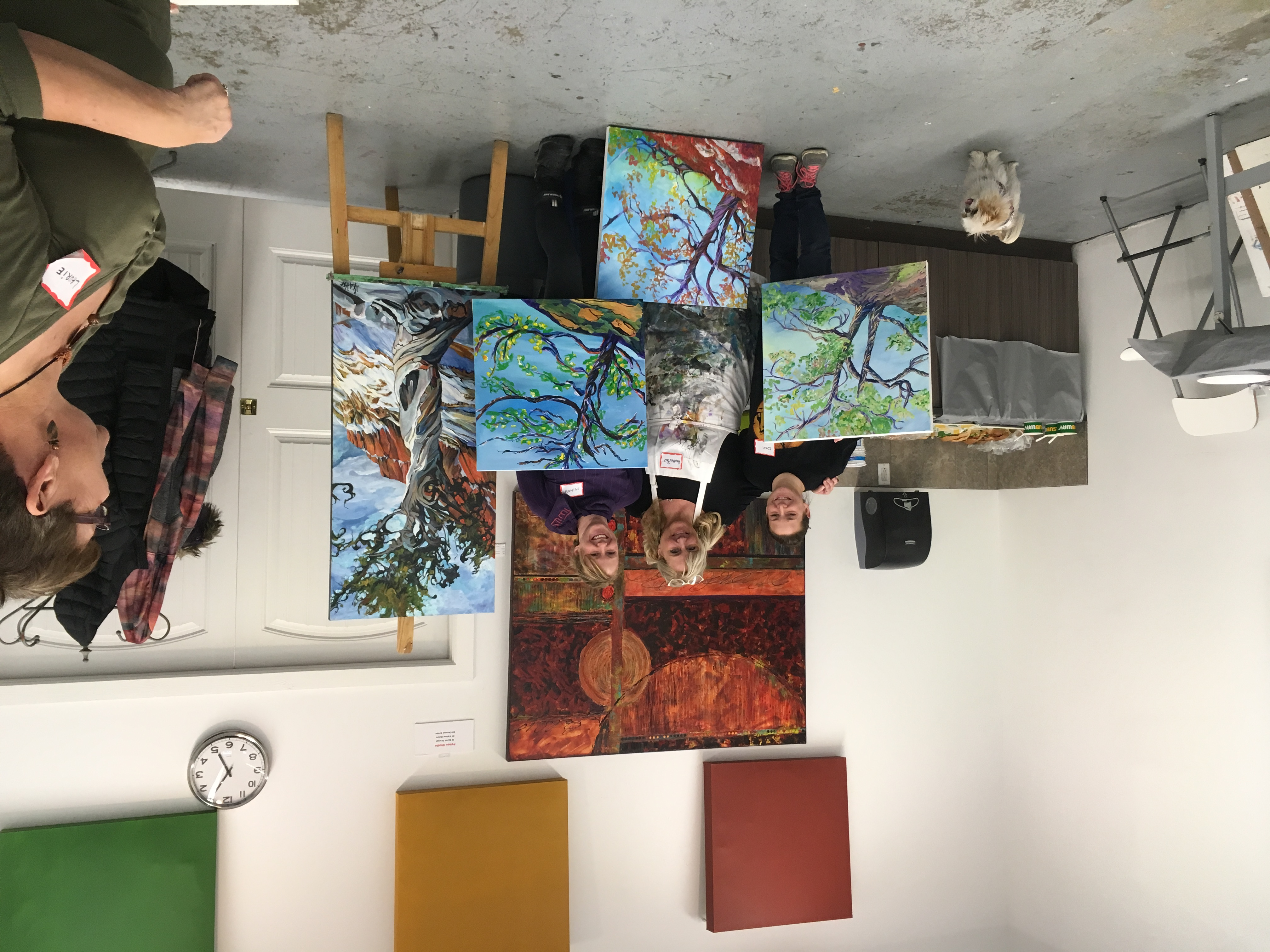 Heather Pant Acrylics Workshop